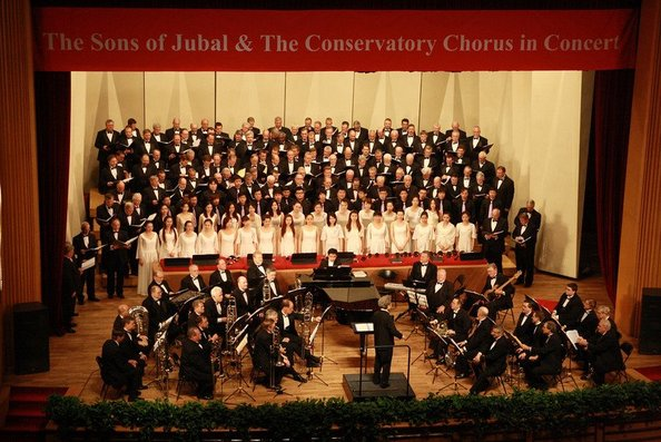 Sons of Jubal chorus in China